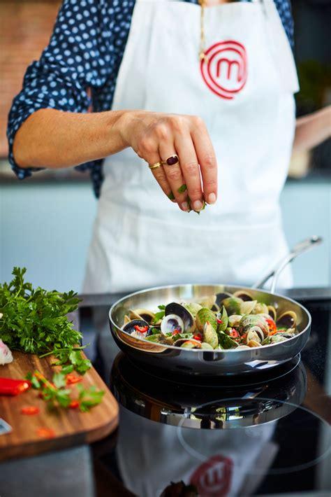 masterchef frying pan copperline cookware  cm  shipping    cookinglifeeu