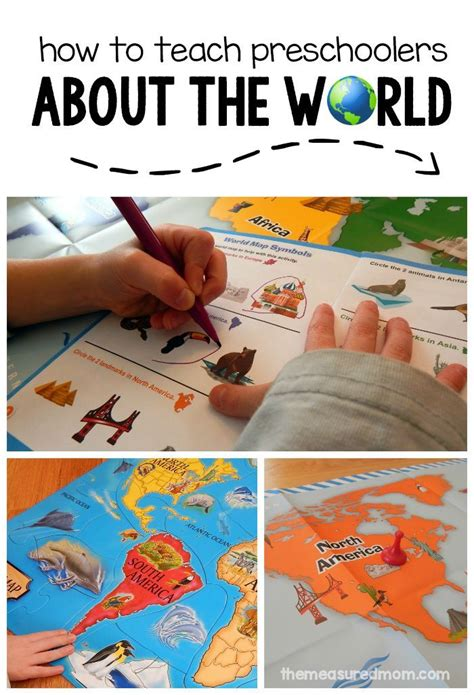 these geography activities for preschoolers will get them 826 | d17772fa4b753dde30f5a45d6e4e880a