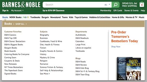 Barnes And Noble Site by What Is A Content Silo