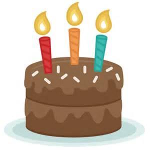 Cake Free Birthday SVG Cut File