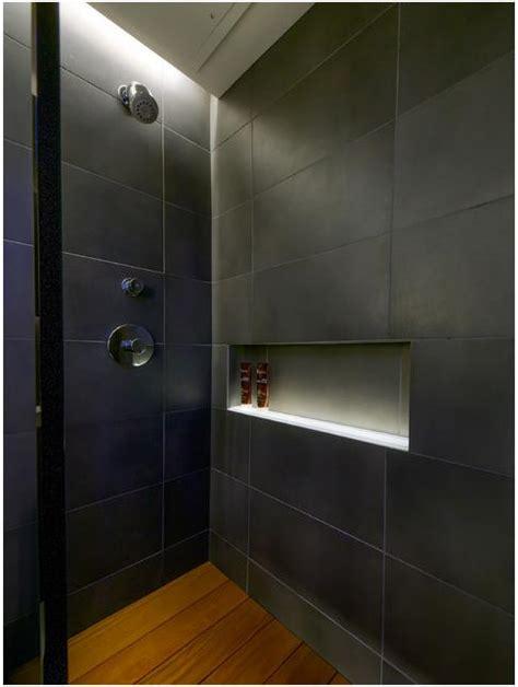 led lighting  shower nicherecess diynot forums