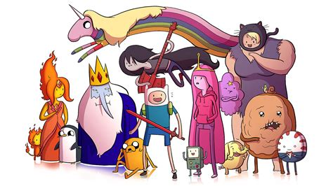 Adventure Time Characters Cartoon Se... Wallpaper #17179