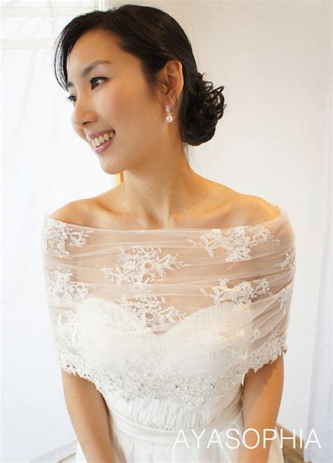 Get Look by Get The Look At Any Budget Wedding Dress Capelets