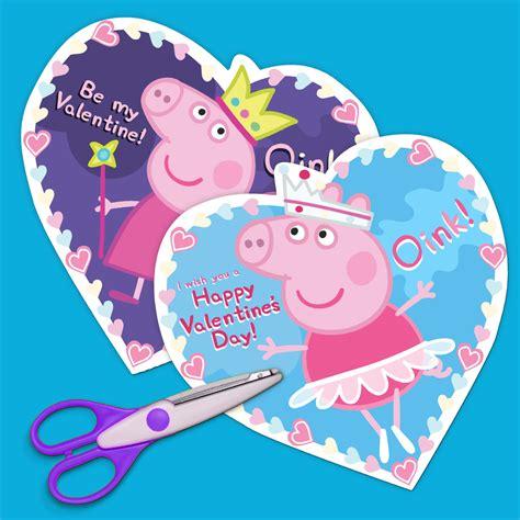 Peppa Pig Valentine Day Cards