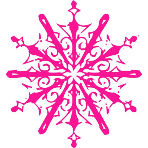 Transparent Background Snowflake Logo Png by Pink Snowflake 10 Icon Free Pink Snowflake Icons