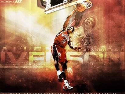 Iverson Allen Sixers Wallpapers Retro Basketball Nba