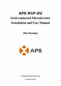 Aps Yc500 User Manual