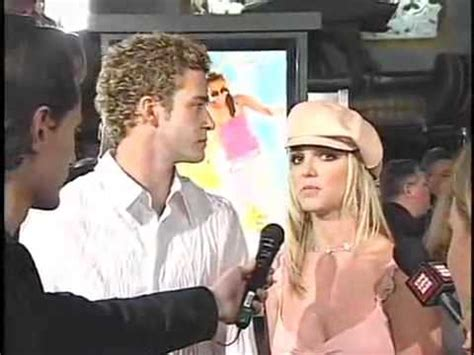 Britney Spears & Justin Timberlake At Crossroads Premiere ...