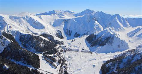 hauteurs de neige et ouverture le mont dore