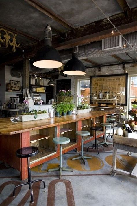 industrial industrial loft  loft kitchen  pinterest