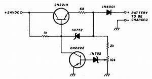 Build A 200ma 12v Ni Cad Battery Charger Circuit Diagram