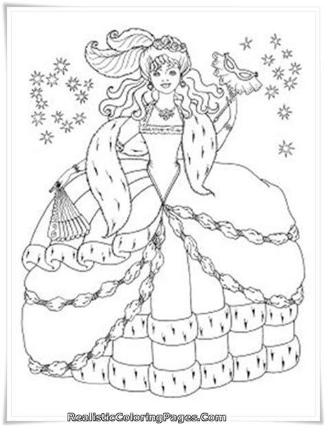 Barbie Diamond Castle Free Coloring Pages