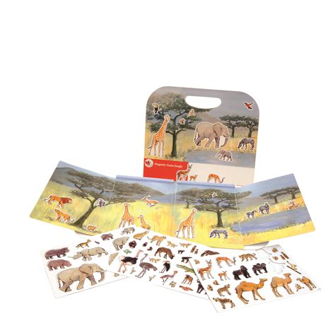 egmont toys magnetlek djungel litenleker se