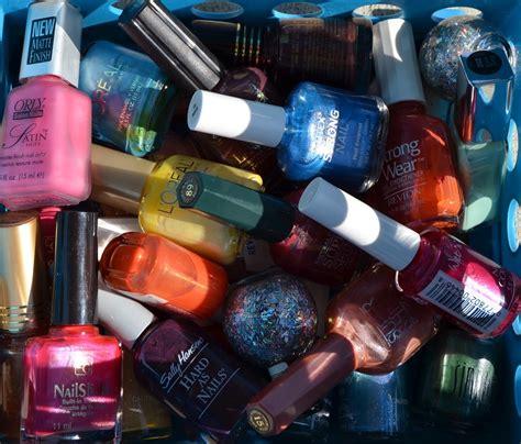 manicures   flea market nail polish    kind