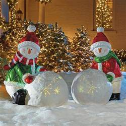 fiber optic white day whiteman outdoor christmas decorations traditional holiday lighting