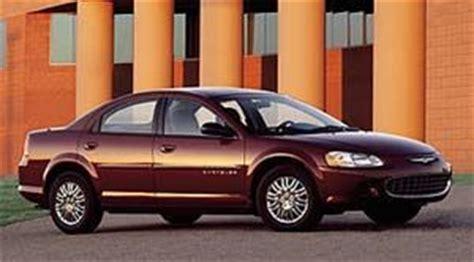 2008 Chrysler Sebring Tire Size by 2002 Chrysler Sebring Specifications Car Specs Auto123