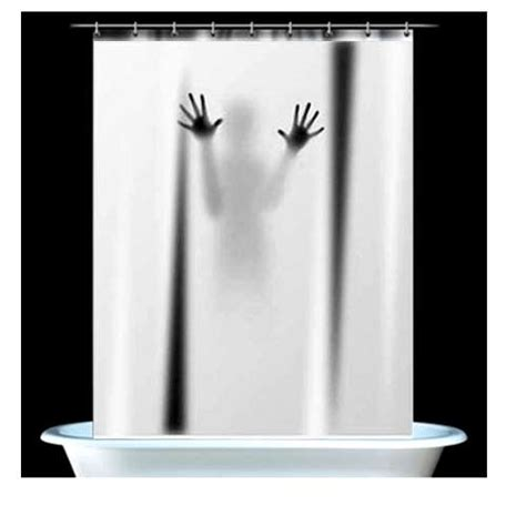 creepy shower curtain psycho shower curtains scary shower curtain