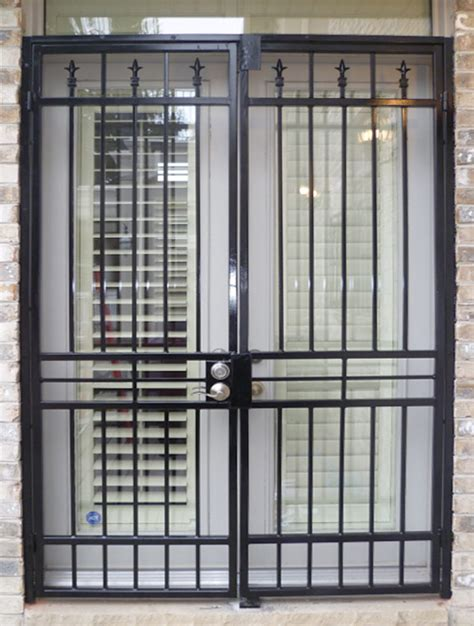patio gate plain design a s metalex security doors