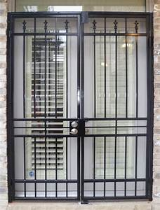 Patio Gate Plain Design As Metalex Security Doors