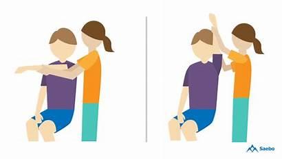 Exercises Motion Range Stroke Clipart Shoulder Flexion