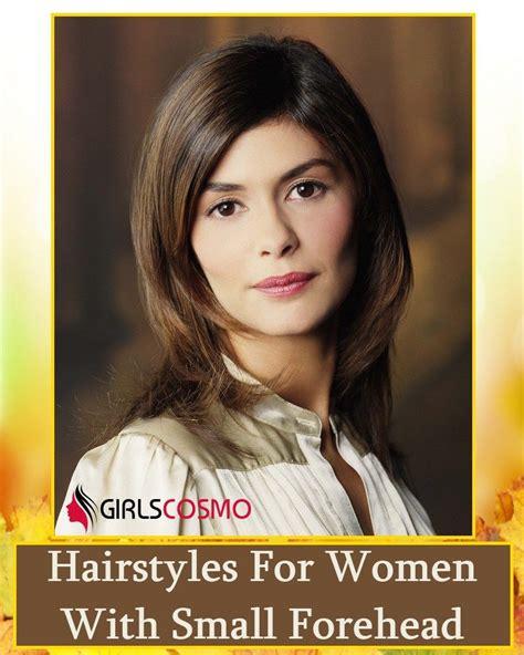 fun hairstyles  women  small forehead hair