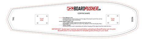 pintail longboard deck template boardpusher help design tips design your own skateboard