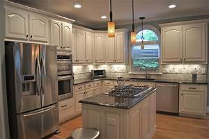 creative cabinets and faux finishes llc traditional With kitchen colors with white cabinets with atlanta skyline wall art
