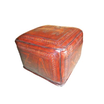 brown square ottoman new world trading large square ottoman posse antique brown 1839