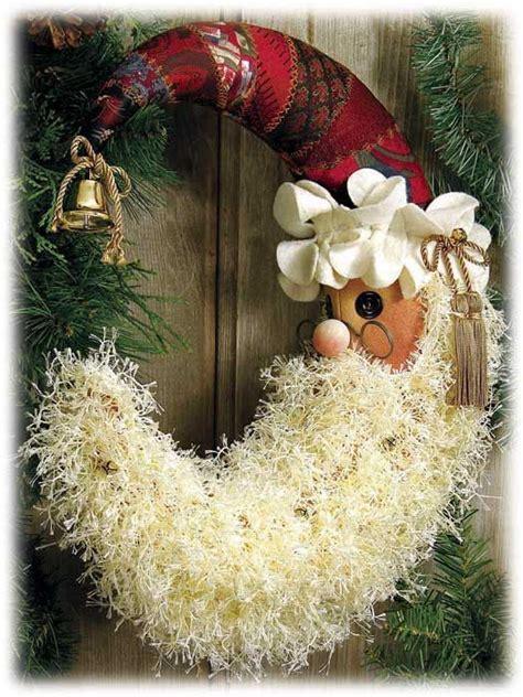 santa wreath pictures   images  facebook