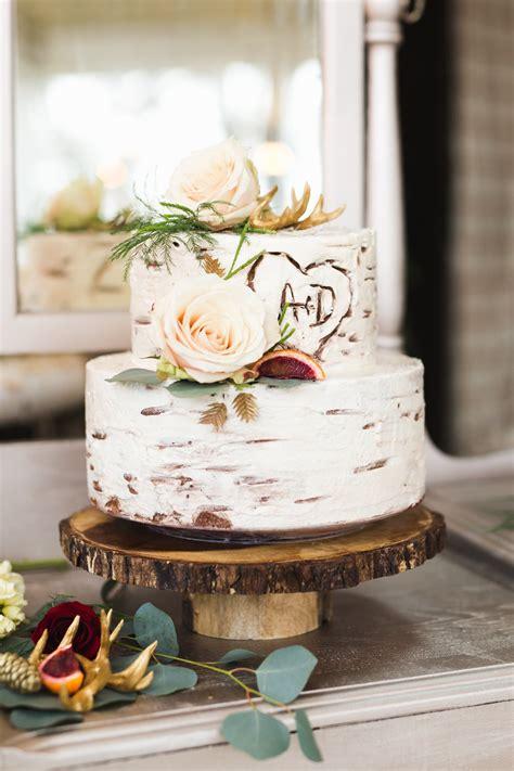 Rustic Romantic Inspiration Wedding Cake Rustic Themed