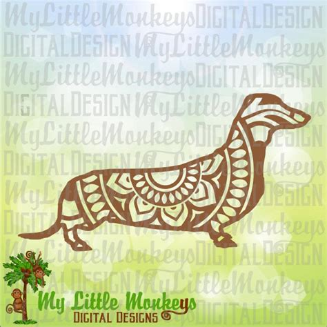 Download dachshund mandala zentangle for silhouette & silhouette studio, sublimation & more free for personal and commercial use. Dachshund svg Mandala Svg Dog SVG Dog Mandala Dachshund | Etsy