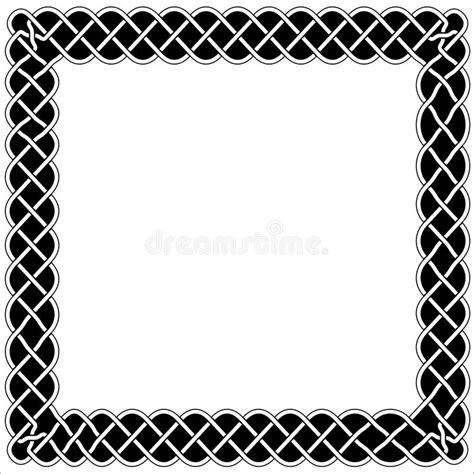 Cornici Celtiche Frames Borders And Black And White Celtic Or Arabic Style