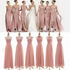 Robe Rose Pale Demoiselle D Honneur : robes demoiselles d honneur 2017 ~ Preciouscoupons.com Idées de Décoration