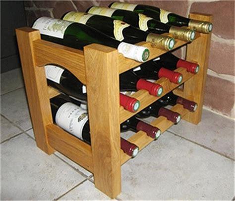 cuisine monsieur bricolage réaliser et fabriquer un casier à bouteilles en bois