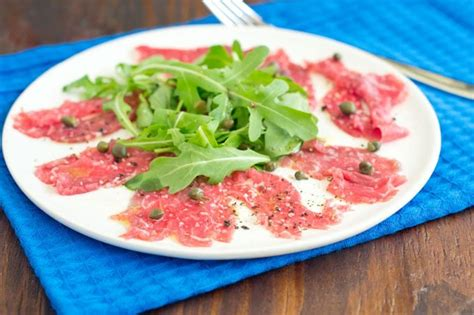 what is carpaccio how to make beef carpaccio the cookful
