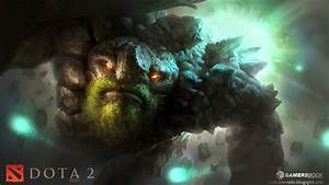 Wisp and Tiny Fan Art by Mike Azevedo and Gamersbook : DotA2