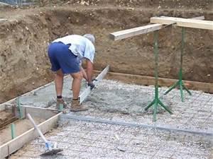 Enterrer Une Piscine Hors Sol : on attaque la dalle enterrer piscine hors sol ~ Melissatoandfro.com Idées de Décoration