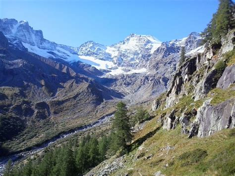 Gran Paradiso by Gran Paradiso National Park In Cogne Aosta Valley