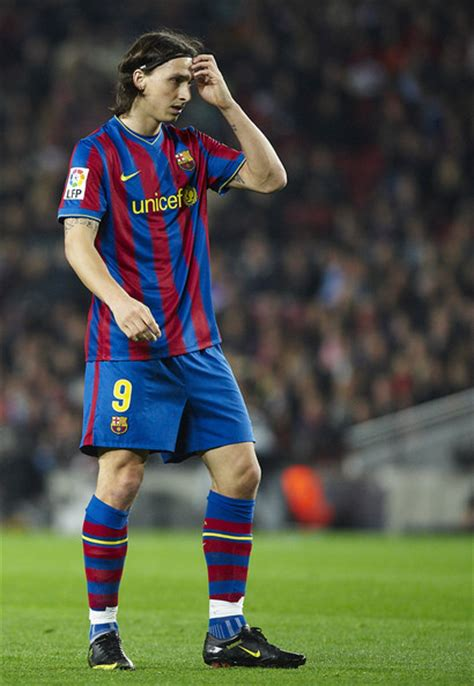 zlatan ibrahimovic   barcelona  malaga la