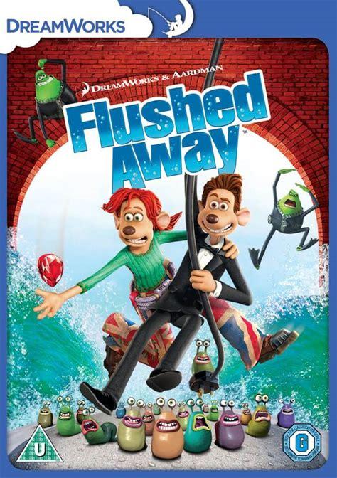 flushed   artwork dvd zavvi uk