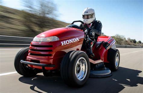 Worlds Fastest Honda by Honda Mower The World S Fastest Lawn Mower