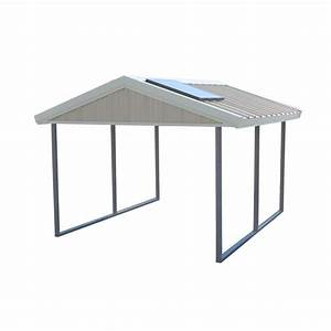 PWS Premium Canopy 10 ft x 12 ft Ash Grey and Polar