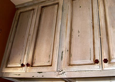 distressed kitchen cabinets pictures cabinets on pinterest kitchen cabinets crackle painting