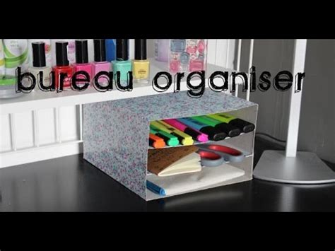 Back To School Bureau Organiser Maken Youtube