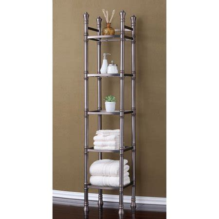 Metal Etagere Tower by Best Living Inc Monaco Etagere 5 Tier Tower