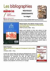 Biblio Nouveaux Enseignants 1er Degre By Canop U00e9 Acad U00e9mie De Lille