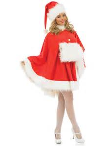 adult ladies santa cape costume fs3187 fancy dress ball