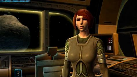 Swtor Kira Carsen Kiss Romance Option Youtube