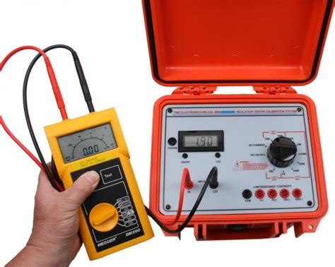 insulation tester calibrator time electronics