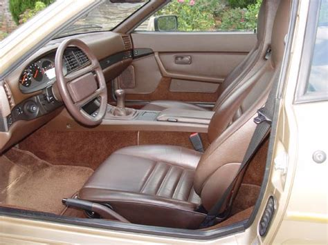 In 1976 the 924 was available only in europe. 12k 1988 Porsche 944s interior | German Cars For Sale Blog